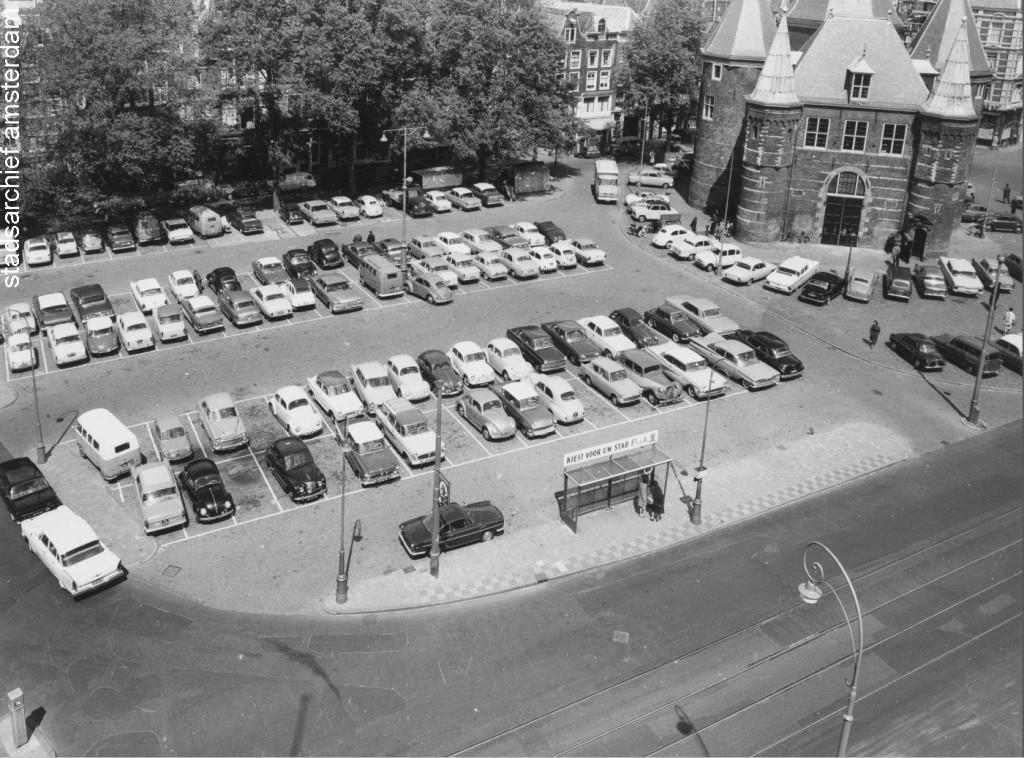 Nieuwmarkt jaren zestig